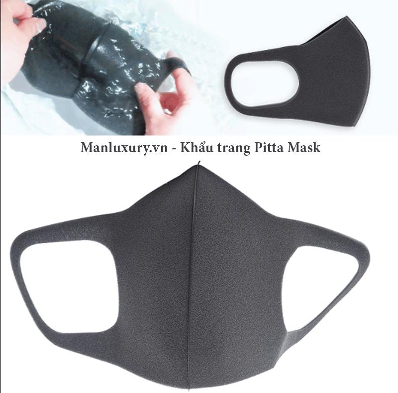 Bên trong khẩu trang Pitta Mask