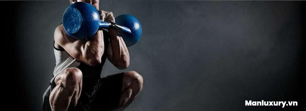 Dụng cụ tập gym: Tạ chuông (Kettlebell)